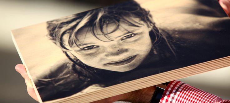 Get photos printed on plywood