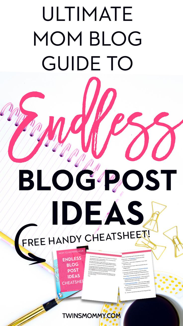 Need some blog post idea inspiration? Coming up with brand new blog post ideas can be hard, right mama? If this isn't part of your blog content strategy, don't worry. Here is the guide to endless ideas for your mom blog. It doesn't matter what niche you are in. Make sure to grab the handy cheatsheet that lists all the ideas for you!   content calendar   content creation   content creation ideas   blogging for beginners