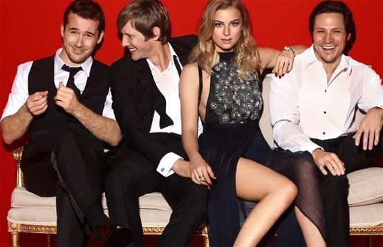 Marie Claire Australia | Revenge Cast || Barry Sloane | Gabriel Mann | Emily VanCamp | Nick Wechsler