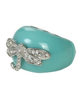 Dragonfly Stretch Ring from ArdenB.com