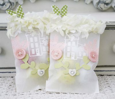Glassine Treat Bags by Melissa Phillips for Papertrey Ink (March 2013)