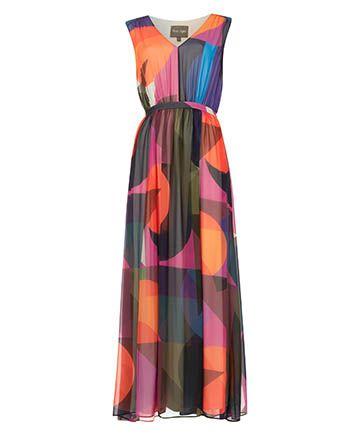 Phase Eight Phoenix Printed Maxi Dress Multi