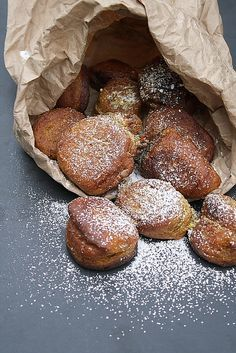 Pumpkin Fritters by Delishhh, via Flickr