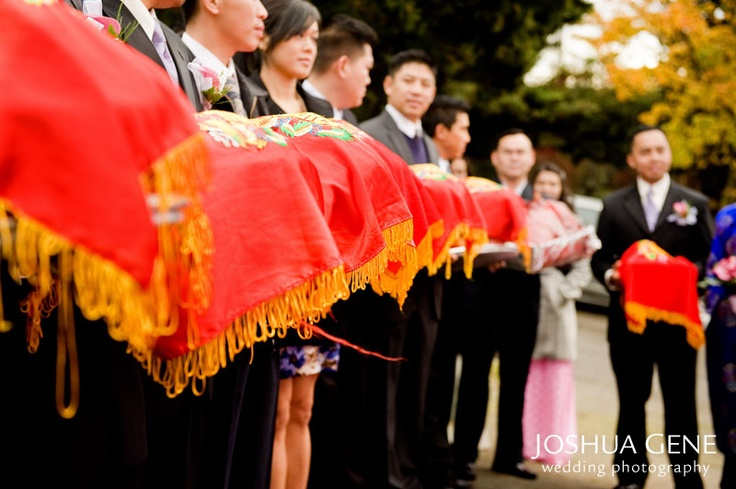 a vietnam's wedding ceremony Need wedding ideas check out this traditional vietnamese ceremony and see more inspirational photos on theknotcom.