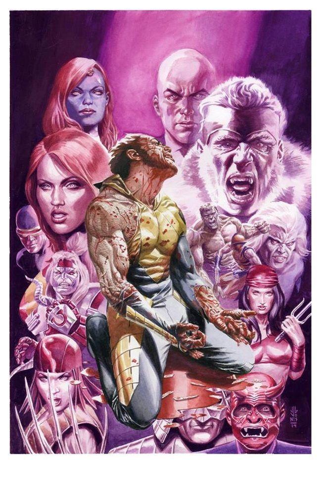 J.G. Jones Death of Wolverine #1 Dynamic Forces Variant Cover Revealed   Comicbook.com