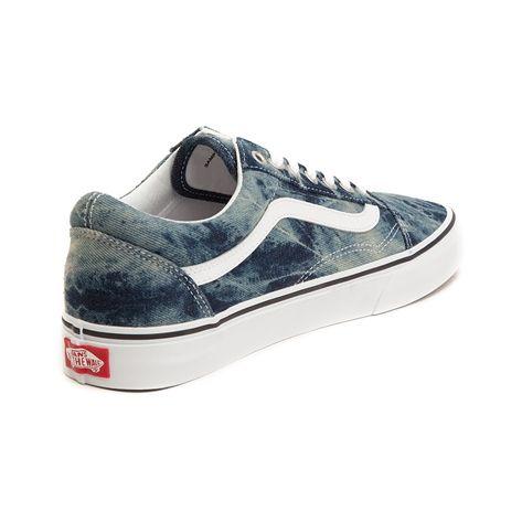 0996ece586d6cb Vans Old Skool Skate Shoe - Acid Denim - 497183 Vans Old Skool