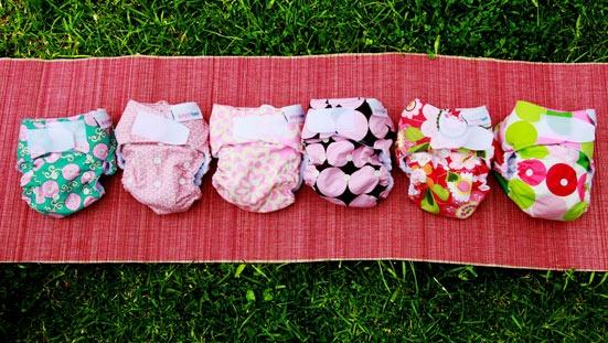 Designer Bums diapers