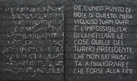 "elisabetta scarpini, ""epistolario"", quaderni in tessuto, leggii in plexyglass, ricamo, dimensioni variabili, 2006"