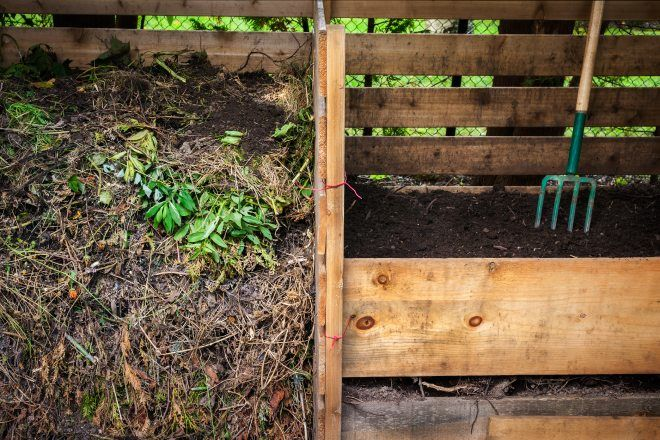 Composting: Easy. Reduces Landfill.