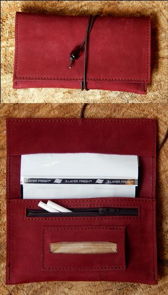 Handmade leather tobacco pouch   .... Romba's leather sandals, bags, tobacco pouches, lighters cases, notebooks and more