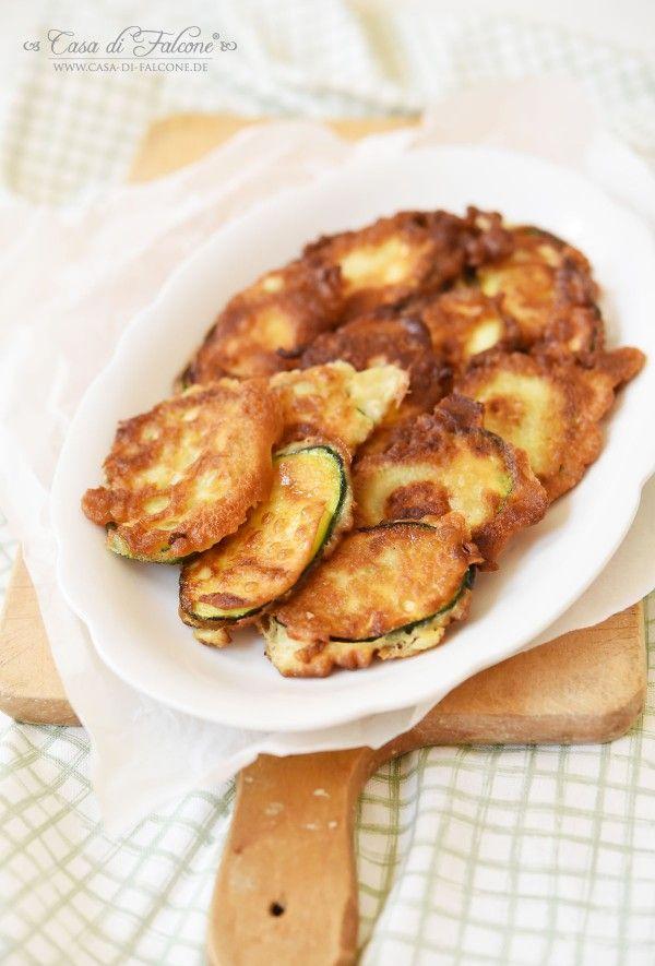 Gebackene Zucchini I Antipasti I La cucina italiana I Rezept von Casa di Falcone