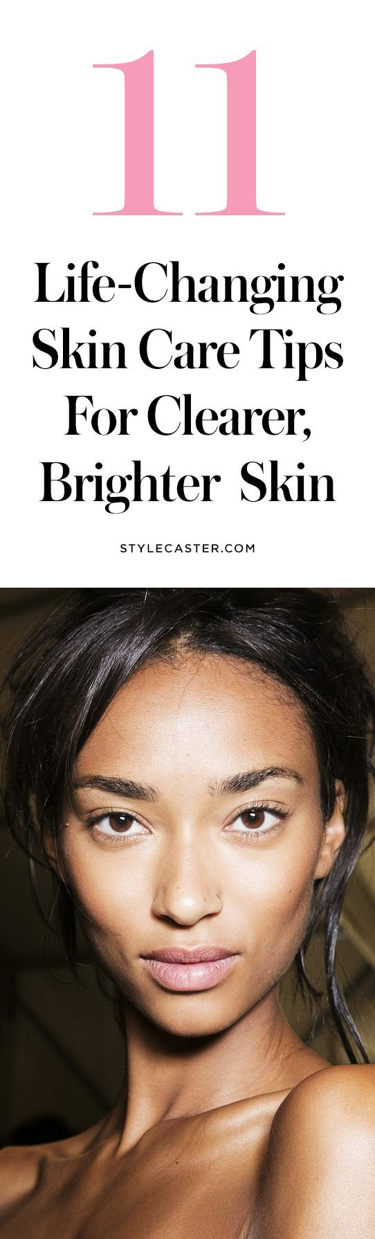 11 skin care tips for clearer, brighter skin | Say goodbye to acne and blemishes!