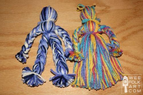 Y is for yarn doll.: Crafts Ideas, Folk Art Kids Projects, Yarns Art For Kids, Crafts Kids Yarns Dolls, Easy Yarns Dolls, Art Yarn, Yarn Dolls, Folk Art For Kids, Dolls Crafts Show