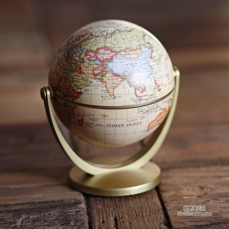 Aliexpress.com: Comprar Geografía Mapa del Mundo globe Adornos para el Hogar Home Decor Craft Decoración de la oficina de Regalo para el Amigo/Niños 10 cm Diseño Retro inglés de artesanía de coral fiable proveedores en Warm House
