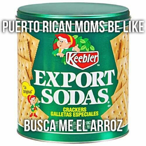 LOL. Were Puerto Rican keep rice. ;) My mom sometimes keep used cooking oil in this container too. As my mom I also keep the rice there!!