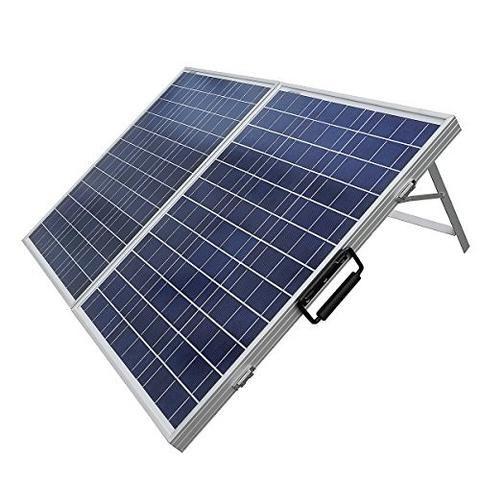 100 W Watt Portable Kits -100W 2x50W Folding PV Solar Panel 12V Off Grid