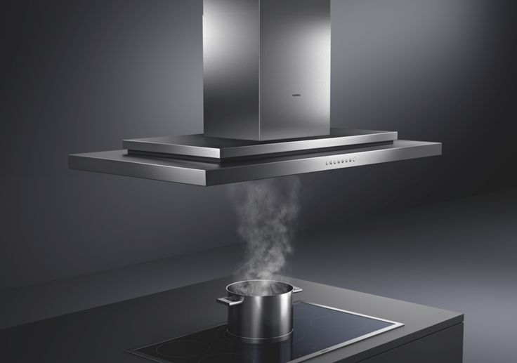 The AI 230 island hood will take centre stage in the kitchen with its classic Gaggenau design. Its extreme efficiency is thanks to a rim extraction filter and optimal airflow interior, while the integrated LED lamps illuminates the chef's work area.