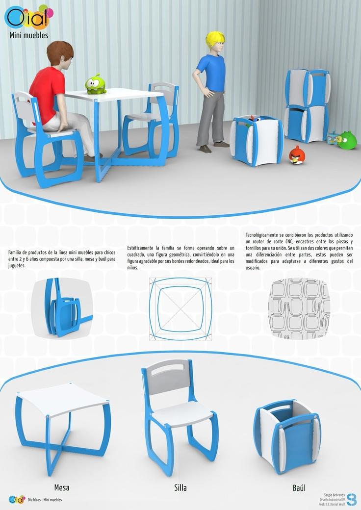 Diseño de Mobiliario Infantil  Sergio Behrends  Diseño Industrial IV  Prof. Daniel Wolf  2012