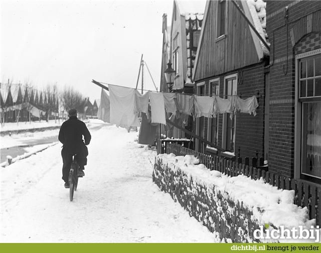 Volendam in de winter #NoordHolland #Volendam