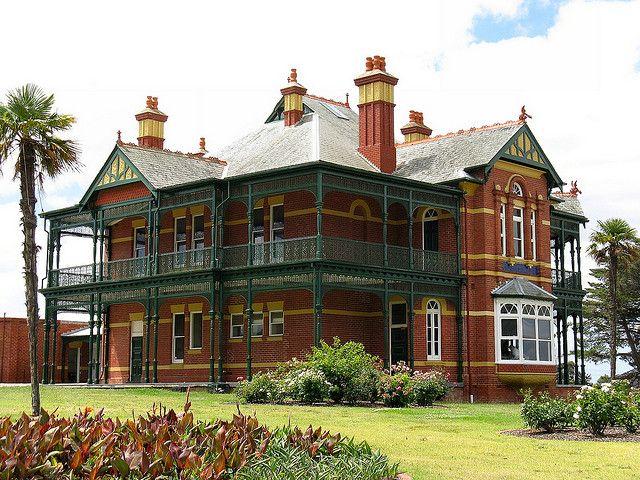 Bundoora Homestead, built 1899 - Melbourne, Australia by Dean-Melbourne, via Flickr