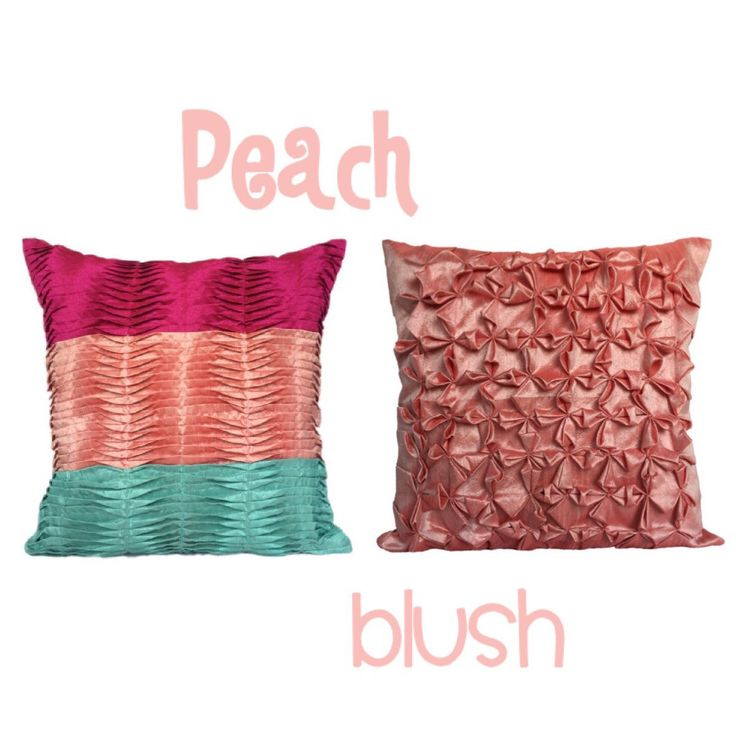 Peach / Blush color pillow covers - Check out at The White Petals Decor