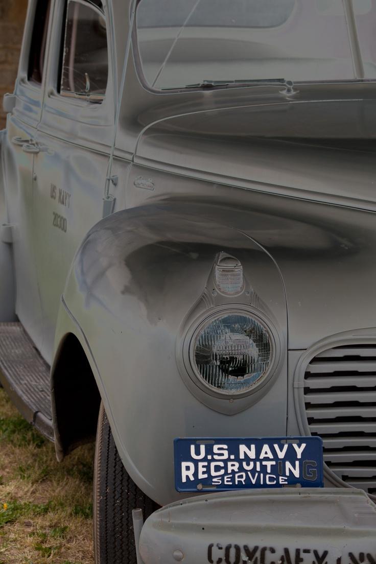 Vintage Navy Recruiter Ride