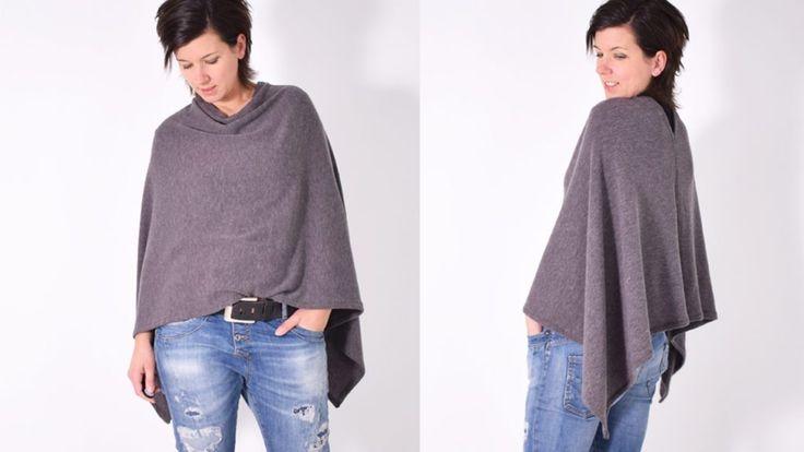 COSY.cape • Nähanleitung + Schnittmuster kostenlos • leni pepunkt • Poncho • free sewing pattern • freebie
