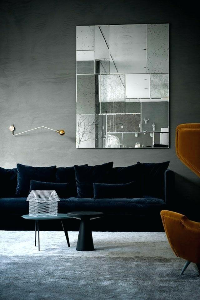Sofa Interior Design Midnight Dark Blue Sofa And Grey Carpet Sofa Interior Design Course Interiordesigncourses Interior Room Design Home