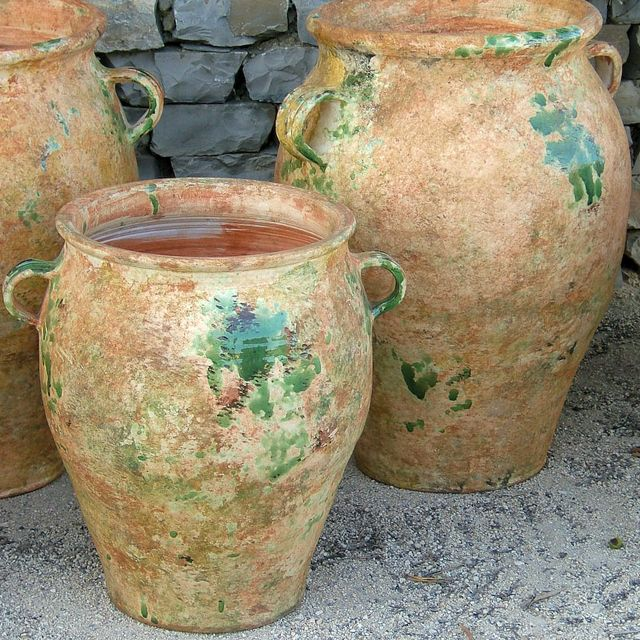 Biot or Provence Jars from Poterie Le Chene Vert