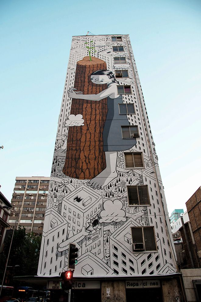 Millo - Never give up, Santiago del Cile