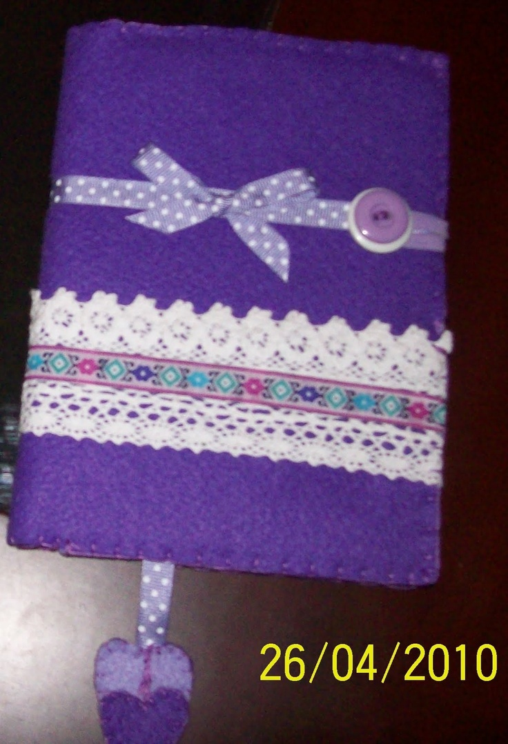 Funda libreta patchwork party