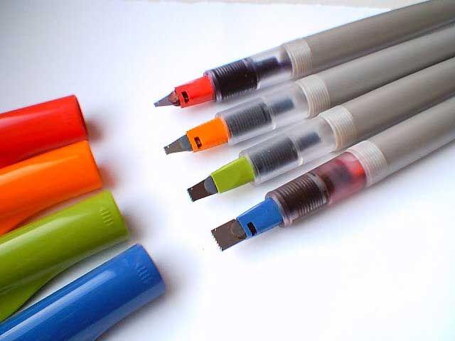 More great pens fo quote lettering. Pilot Parallel Pen #pilot #pens