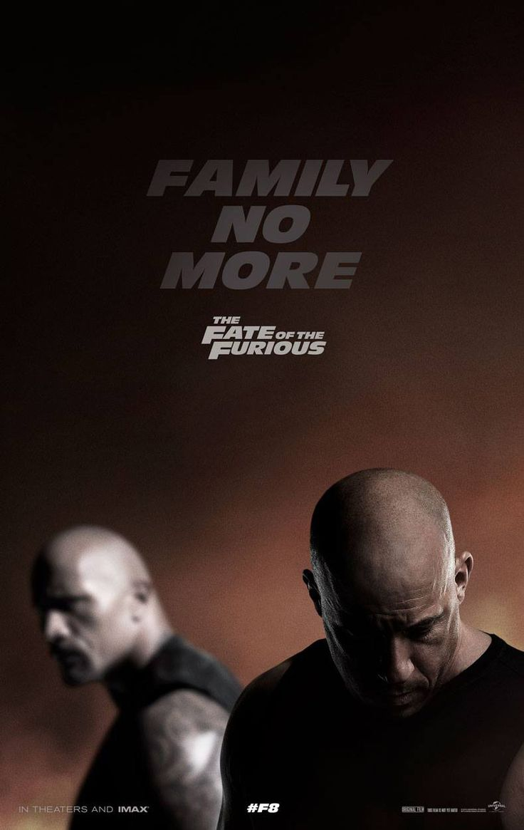 M.A.A.C.   –  Poster For THE FATE OF THE FURIOUS aka FAST 8. UPDATE: First Trailer