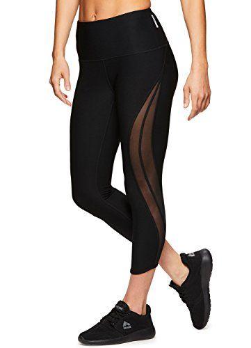 08cd5da9a3e1c RBX Active Women's Workout Yoga Leggings 18 Black S RBX https://www.