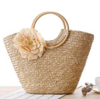 Bohemian women straw bag summer handbags