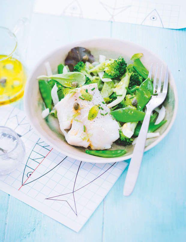 Salade détox brocoli et cabillaud 150 Kcal par personnePour 4…
