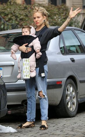 Sienna Miller and Daughter Marlowe Are Adorable Shopping Duo in NYC  Sienna Miller, Marlowe