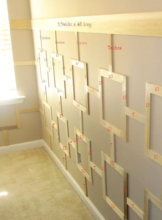 33 best wall treatments images on Pinterest | Wall treatments ...