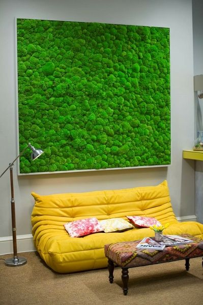 large moss picture for Companies House in London by Bright Green. www.brightgreen.co.uk