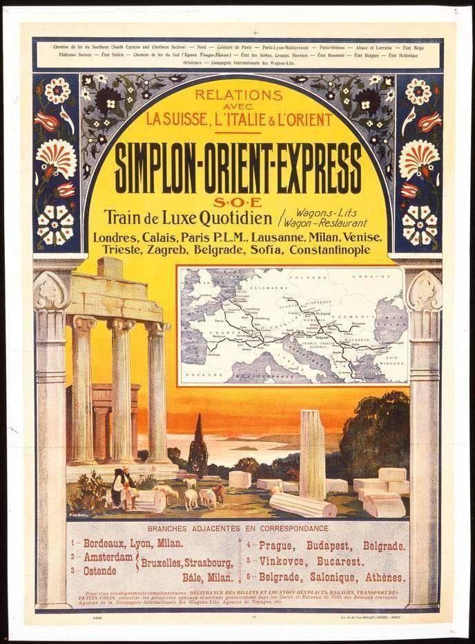 L Orient Express La Traversee De L Histoire A Toute Vapeur 2020 Tren Almanya