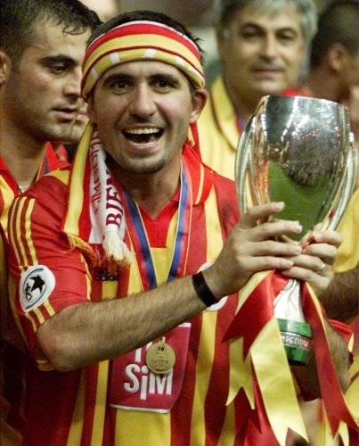 Hagi #galatasaray #istanbul #futbol #football #fussball #goal #turkey #hagi #uefacup2000 #eufacup #cup #kopenhag