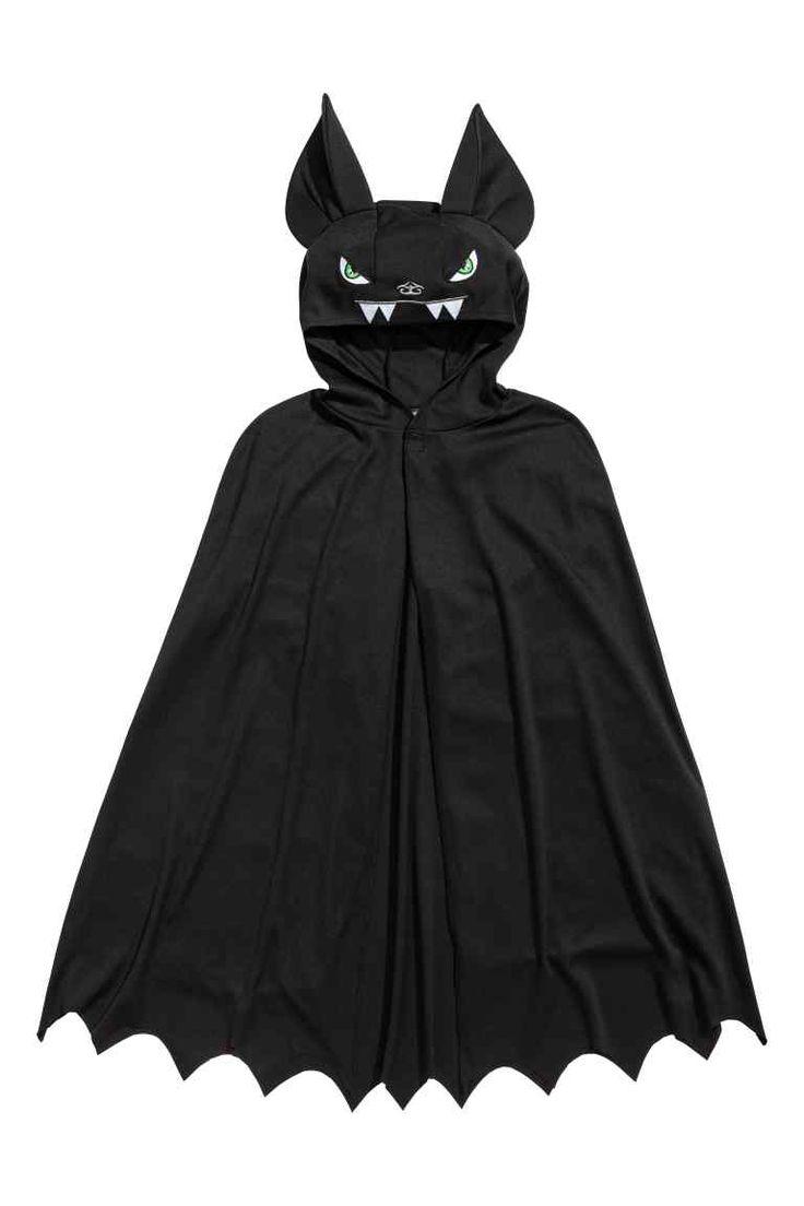 Capa de disfraz - Negro/Murciélago - NIÑOS | H&M ES