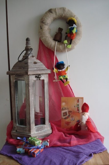 Sinterklaas decoration....too cute!