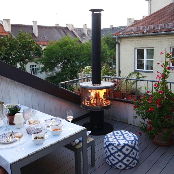 Produkttest: RÜEGG Surprise Outdoor Feuerstelle …. Wie man gemütliche Lagerfeuerromantik im Sommer und Gartenparty im Winter in einem Kamin verbindet ….auf dem man auch noch grillen kann…wir sind begeistert!