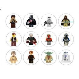 Edible Image Toppers Reviews : Lego Star Wars Edible Cupcake Toppers Images 12 Cake ...