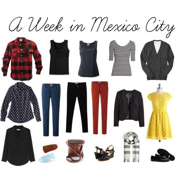 A Week in Mexico City by sharpsusan on Polyvore featuring Kensie Girl, Isabel Marant, H&M, Tory Burch, Envy Look, Uniqlo, Patagonia, Converse, Frye and Burberry