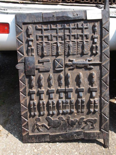 Dogon carved door & 25 best Dogon granary carved doors images on Pinterest | Carved ...