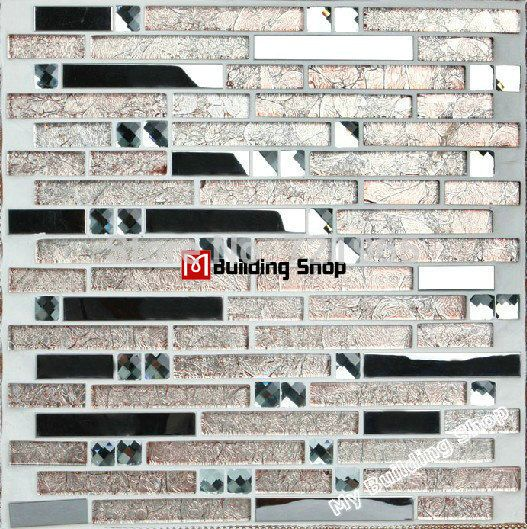 Find More Mosaics Information about Interlocking Stainless steel tiles glass mosaic kitchen backsplash tile SSMT015 metal blend glass mosaic backsplash tiles,High Quality tile pen,China tile samples Suppliers, Cheap tile panel from My Building Shop on Aliexpress.com