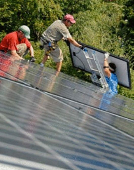 You do not have to be an electrician or anything like that to build your own solar panels.