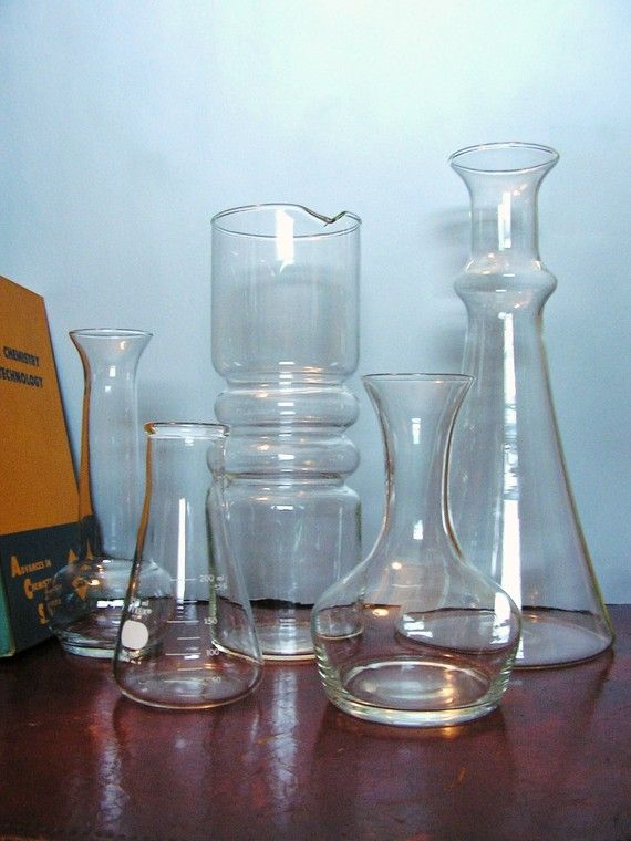 Vintage Science Lab Glassware Vials And Test Tubes Last One Science Labs And Vintage